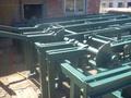грузовой стол механизированный, эстакада механизированная, устройство поштучной выдачи для бревен
