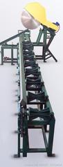 линия раскряжевки, торцовочная линия, станок для торцовки бревен