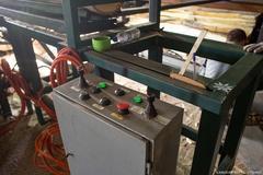 торцовочный станок, линия торцовки, торцовка для бревен, торцовка автоматическая