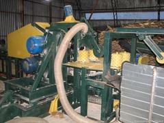 Линия для производства палетной доски, производство тарной доски, доска для поддонов, переработка тонкомера в палетную заготовку, распиловка тонкомера