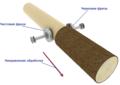 Инструмент оцилиндровочного станка