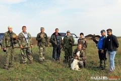 Межрегиональный слет сокольников России прошел в Воскресенском районе Саратовской области