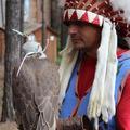 Наш питомник посетил индеец