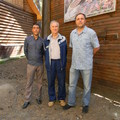 Гости и директор Холзана