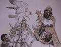 Иллюстрированные летописи соколиной охоты Вадима Горбатова