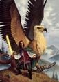 Хищные птицы в иллюстрациях к рассказам Fantasy