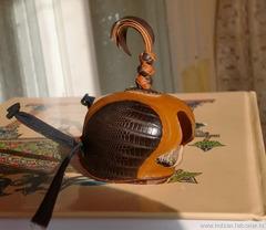 Голландские клобуки с кожей экзотов (с голландскими или арабскими стяжками)