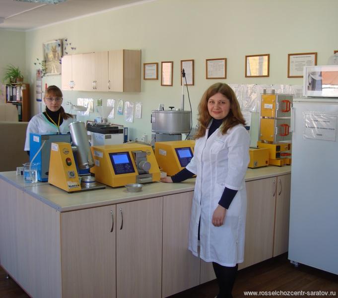 В испытательной лаборатории