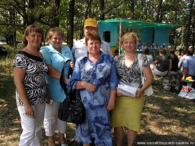 День поля на Аркадакской ОС 29.07.2011 г.