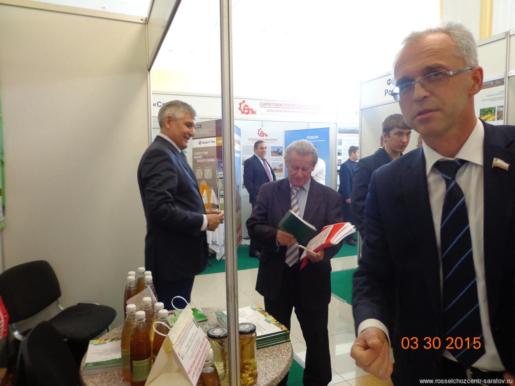 Фаизов И.Ф. и Ландо А.С. Председатель Общественной палаты Саратовской области
