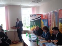 Выездное заседание областного штаба по подготовке и проведению весенних полевых работ в Левобережных районах области