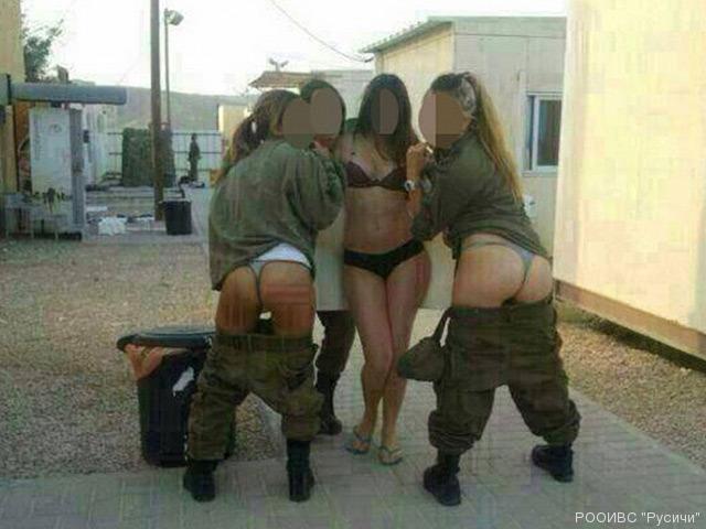 Голые израилские военные девушки фото