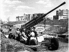 О том, как школьницы-зенитчицы остановили ветеранов-танкистов вермахта