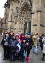 Международный музыкальный конкурс - фестиваль детей и молодежи «Зимняя сказка-2011» в Чехии.