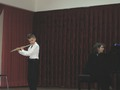Максим Денисов и концертмейстер Наталия Морозова