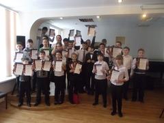 Школьный конкурс «Юные таланты  ДМШ-2013» (баян - аккордеон)