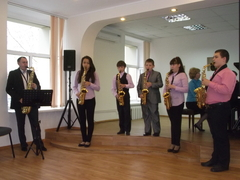Ансамбль саксофонистов «Jazztones»