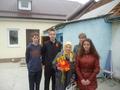Волонтеры поздравляют ветерана ВОВ Швыдко Веру Яковлевну.
