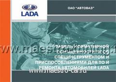 Табель нормативной оснащенности ПССС (2008г.)