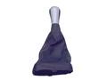 Ручка КПП с пыльником ВАЗ 2113-14-15, серая.
