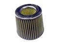 Воздушный фильтр нулевого сопротивления, инжекторный (жёлтый, конус).