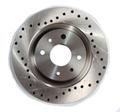 Передние тормозные диски Alnas Sport 2110-02 (перфорация)