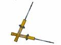 Телескопические стойки задней подвески PLAZA, серия SPORT 50, для ВАЗ 2108-09-099.