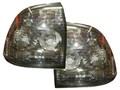 Штатные тюнингованные фонари для Лада Приора (седан и хетчбек), тонированные.