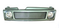 Декоративная решётка радиатора Ваз 2108 - Ваз 21099 в цвет автомобиля с противотуманными фарами. (ДРР09-Ф).