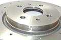 Передние дисковые тормоза ALNAS, перфорированные R15 (2108-2110, Priora, Калина) с насечками, (со скобами)