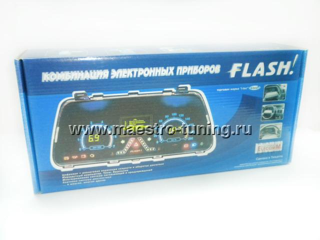 электронная комбинация приборов flash схема подключения
