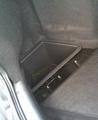 Контейнеры в ниши багажника для Лада Приора.