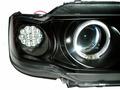 Ангельские глазки ВАЗ 2113-15 черные, моноблок