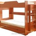 Кровать 2-х ярусная (900*1900) (Вишня)