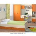 Детская Лотос (10.01+5.07+5.10+9.06) (Ясень шимо/Оранжевый)