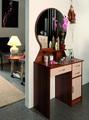 Стол туалетный Надежда-М04 (Ясень шимо темный/Дуб линдберг)