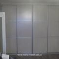 Встроенный шкаф купе 4 двери (дуб выб) 002