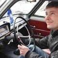 за рулем ретро авто - Кирилл ЛАДЫГИН