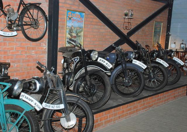 Выставка ретромотоциклов