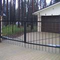 Фото - распашные ворота