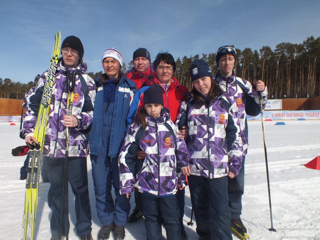 Достойная победа наших лыжников