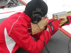 Аннотация работы Растригин Евгений на огневом рубеже в Первенстве России по лыжным