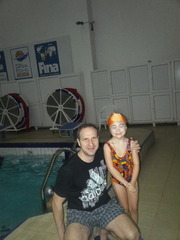 Аннотация работы Моей дочери 6 лет, она занимается в бассейне, не всё пока получается,