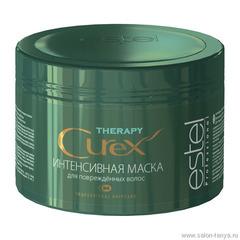 Интенсивная маска CUREX THERAPY для поврежденных волос(Артикул: CU500/М5) .