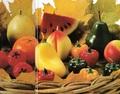 Свечи фрукты. (автор Кира)