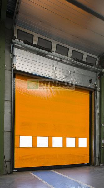 Ворота М2 Power с повышенной ветровой нагрузкой.