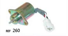Клапан электрический для погрузчика kubota