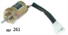 Клапан электрический для погрузчика tcm
