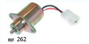 Клапан электрический для погрузчика clark