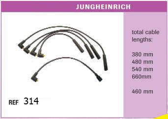 Высоковольтные провода JUNGHEINRICH
